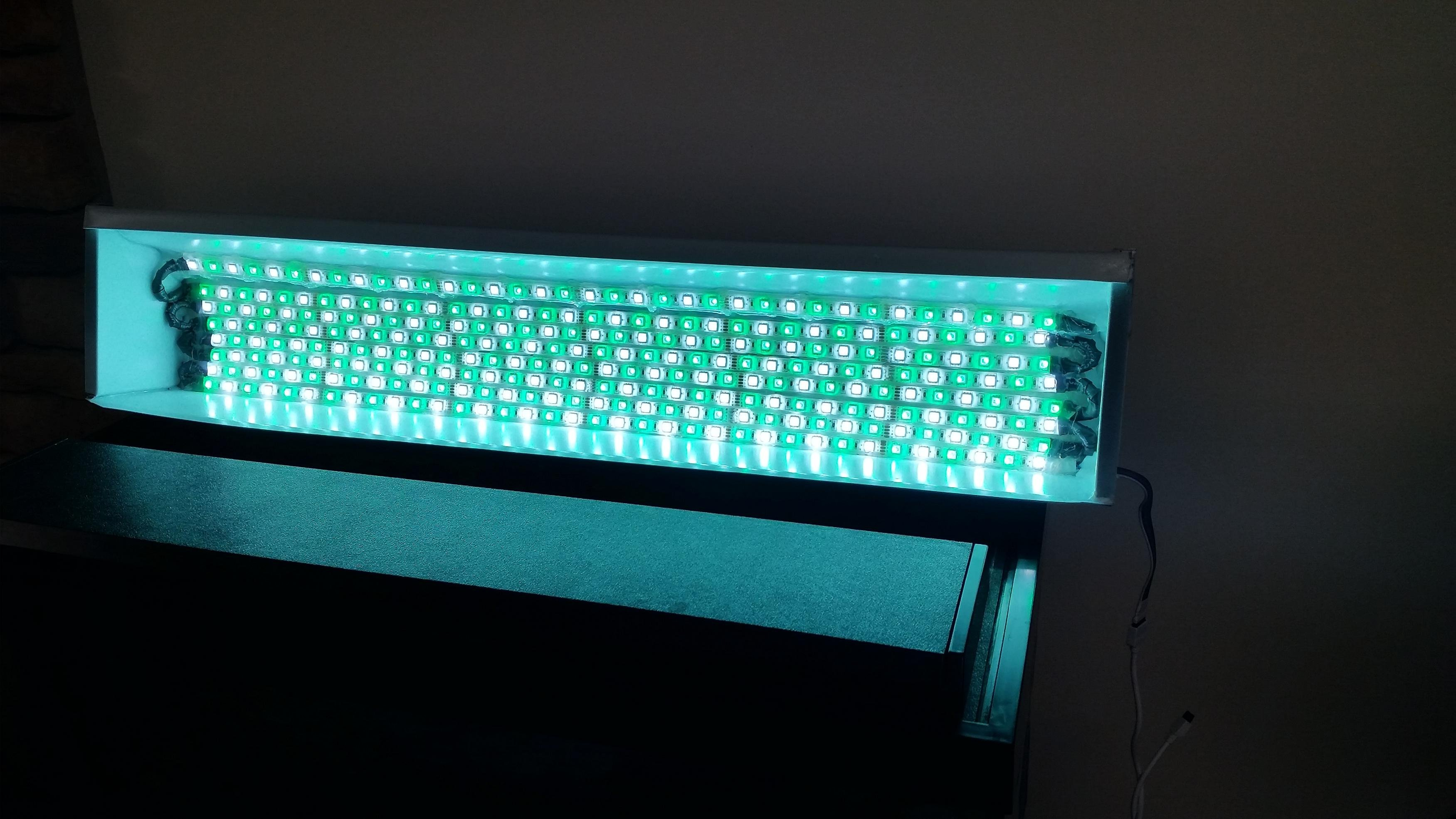 Home made led strip light lighting aquatic plant central click image for larger version name 20150202162236g views 1161 size 5029 aloadofball Image collections